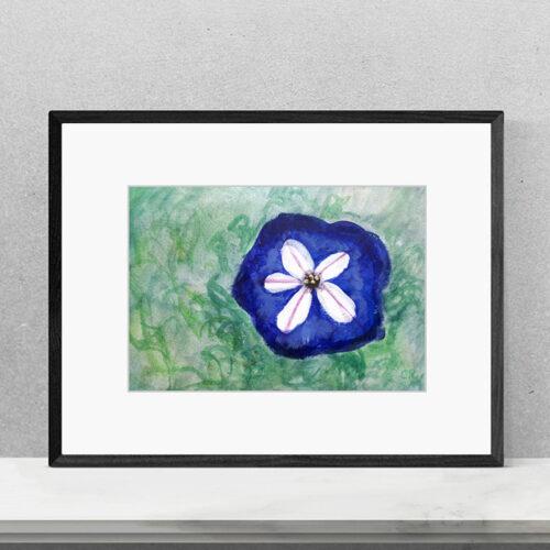 Print Fleurs Flowers